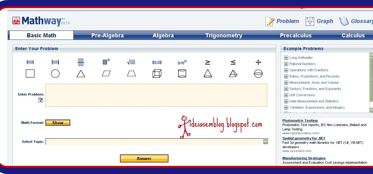 mathway1 O Que Mathway on