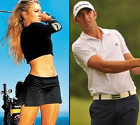 Dustin Johnson s girlfriend Paulina Gretzky