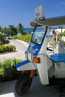 Tuk Tuk of Blue Marine Resort and Spa