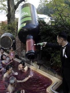 Wine Spa Travel - Soaking in Vino Japan