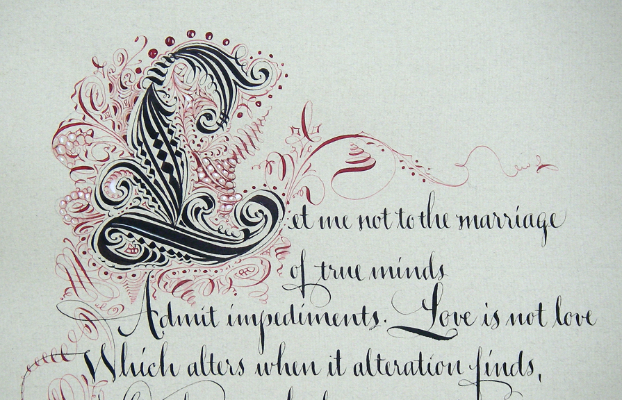 zentangle sonnet  sonnet 116