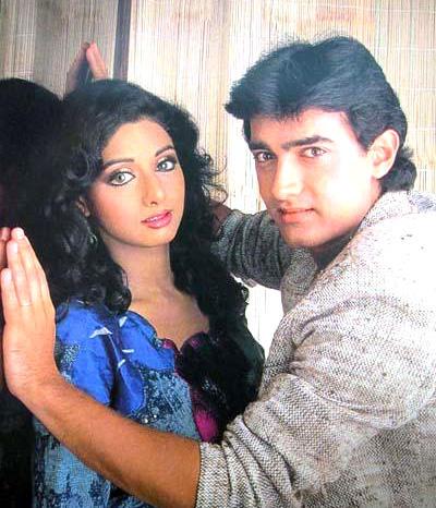 आमिर खान करते थे श्रीदेवी से प्यार, डरते थे उनके सामने जाने से