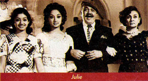Sridevi in the film Julie