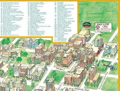 Uab Hospital Map Awesome Uab Campus Map Pictures   Printable Map   New  Uab Hospital Map