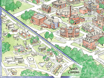 Grambling State University Campus Map.Louisiana Tech Campus Map Bnhspine Com