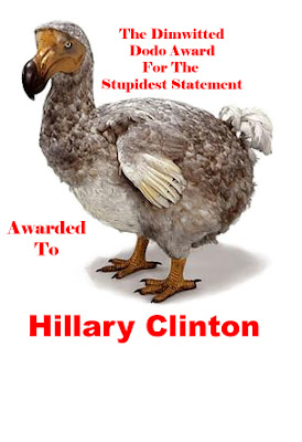 idiot hillary clinton is a muderer