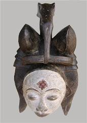 Máscara Africana I.