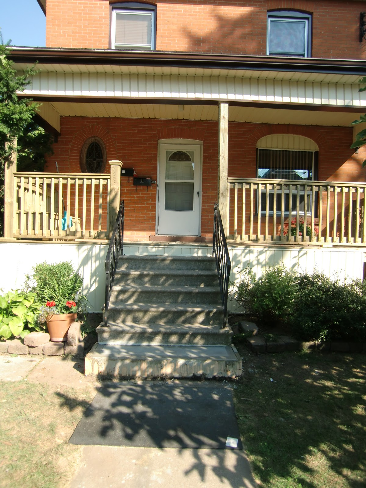 A Board and Beyond Home Improvements: Front Porch - Steps