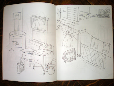 Old Centennial Farmhouse An Amish Coloring Book Giveaway