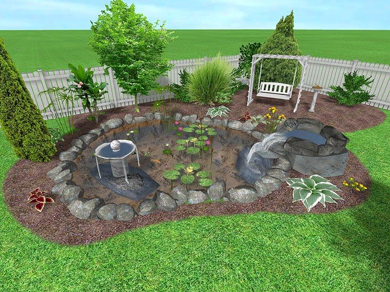 Architecture Homes: Small Backyard Designs on Landscape Design Small Area id=90253