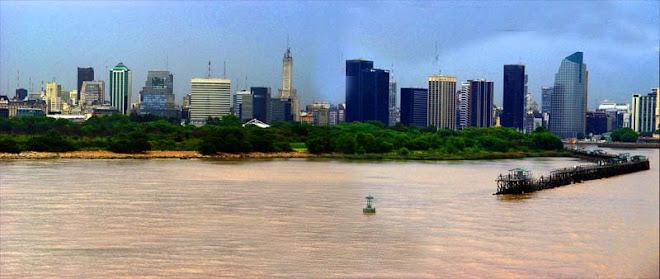 Buenos Aires From Rio Del Plata