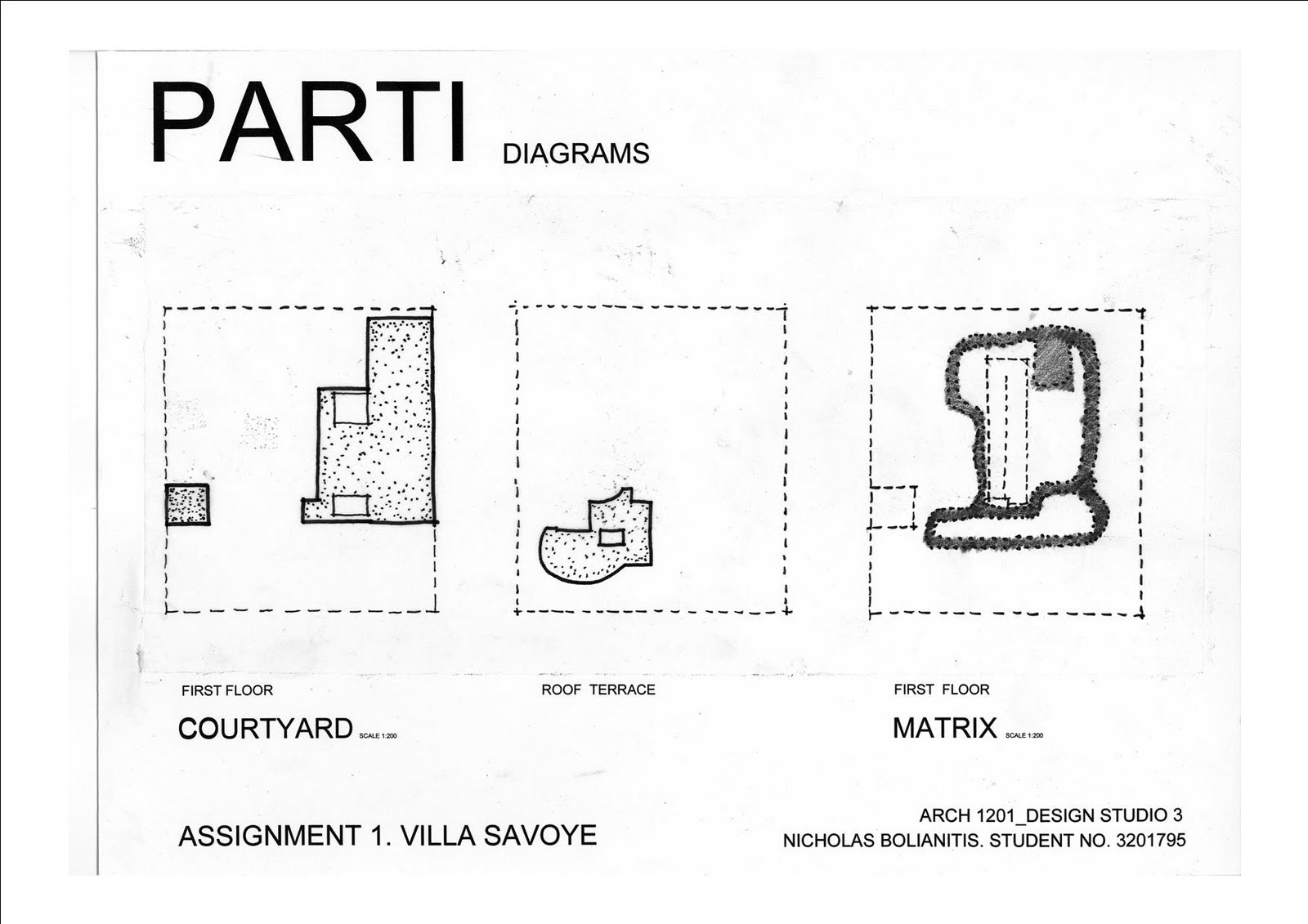 Complete House Plans Nicholas Bolianitis Final Drawings Parti And Poche