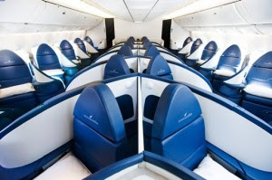 The First Class Project Flat Bed Seats For Delta And Philippine Airlines Business Class