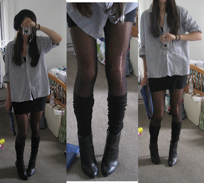 Fashion, Wangin+Around TrendSpark: Cheap, Ripped Stockings