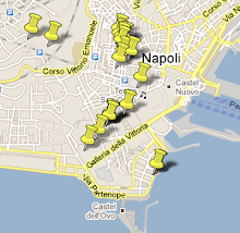 Napoli Sketched MAP