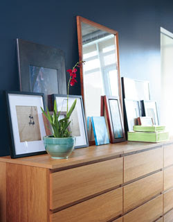 An Easy Way To Add Storage In The Living Room Was Several Ikea MALM Dressers Same Size And Finish Which Look Like One Continuous Piece