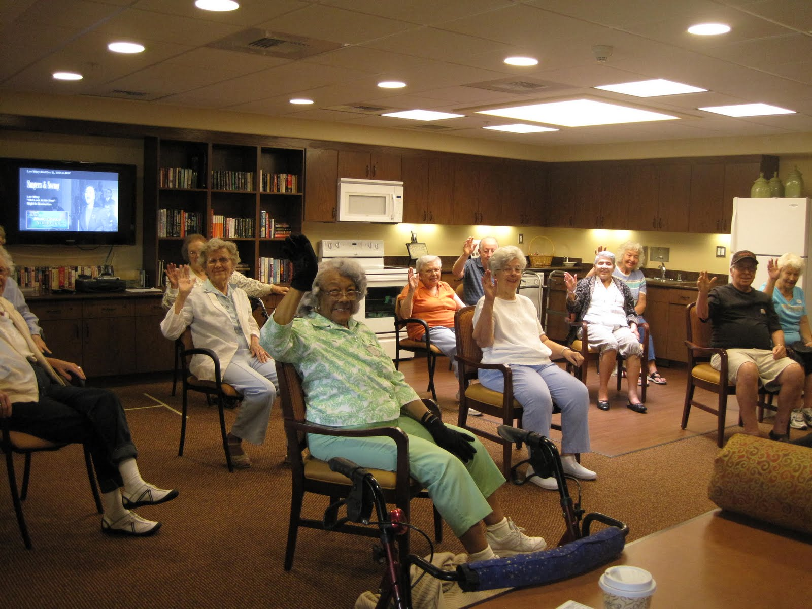 30 Minute Chair Workout For Seniors High Top Tables And Chairs Valencia Terrace Blog