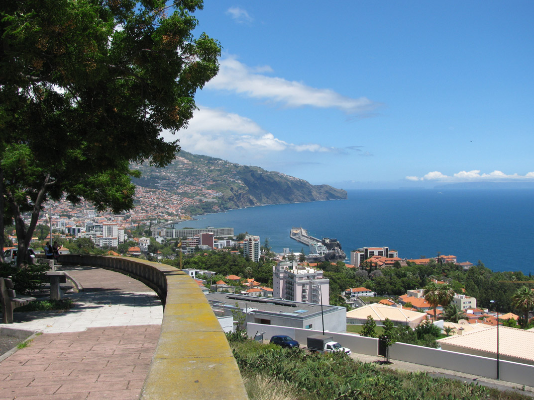 Funchal from westside