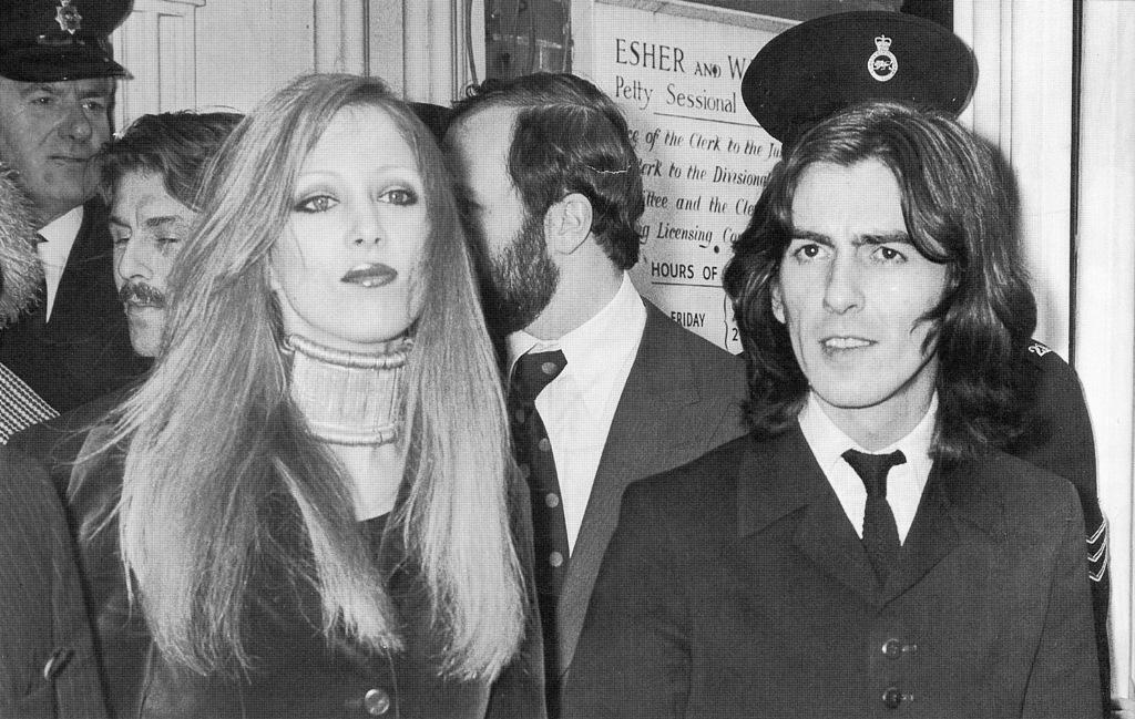 Diet Coke And Sympathy Sixties It Couple George Harrison Pattie Boyd