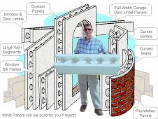 We make Custom Shape and Size ICF Wall Panels Call Now 480-516-6487
