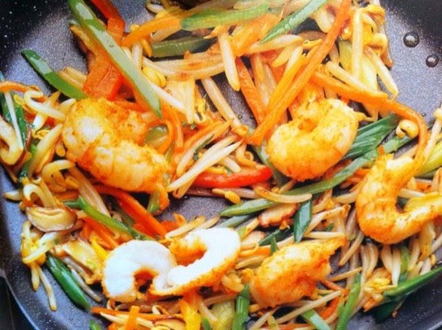 Ricette senza colesterolo scampi ai germogli di soia for Cucinare scampi