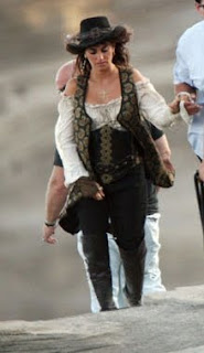 Penelope Cruz - Piratas do Caribe 4