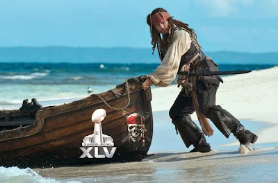 Pirates des Caraïbes 4 Super Bowl