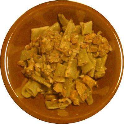 recettes  Omelette aux haricots verts