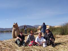 Sivøerne på Titicaca