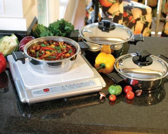 Rena ware internacional cocina de induccion for Cocinar induccion