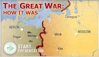 The Great War: how it was. Multimedia map of the war.
