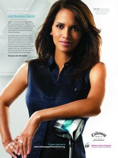halle berry golf