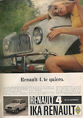 PROMO RENAULT 4  de 1969