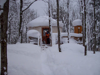 Jbout Amp In Porcupine Mountains Yurt Camping