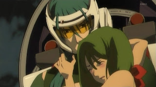 Ranka Lee and Alto Saotome