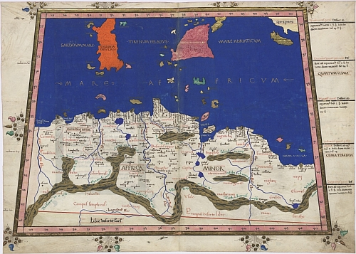 North Central Africa and the Mediterranean Sea