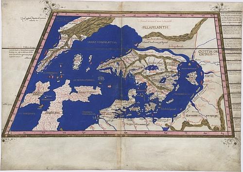 Scandinavia map 1467