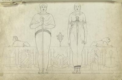 Osiris and Isis