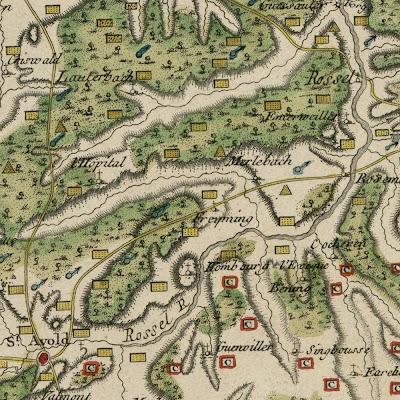 Lorraine region geology detail
