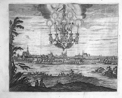 1666 Friedensleuchter über Augsburg