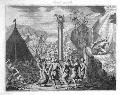 1675 Tanz um das Goldene Kalb