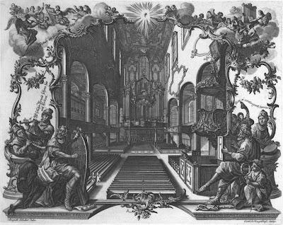1756 Neue Orgel in der Barfüßerkirche