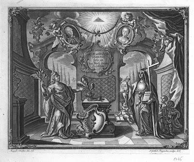 1765 Allegorie auf die Vermählung Josephs II.