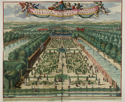 One of the most beautiful views of the parterre of the park of Sorgvliet [Zorgvliet]