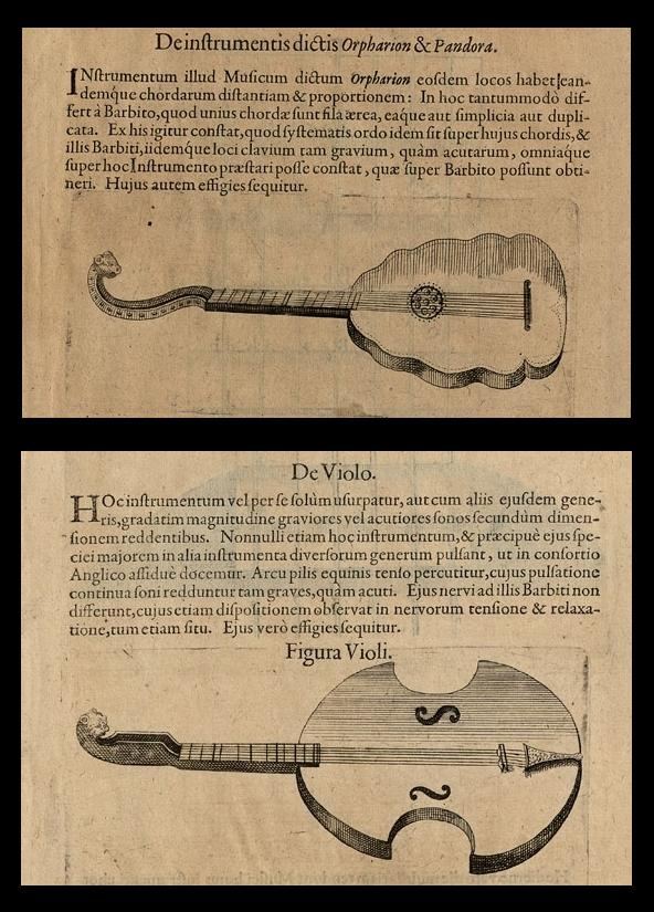 Musical Instruments - Pars II Lib. VI p233 - Pars II Lib. VI p237