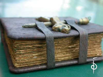 handmade book binding