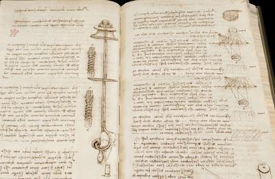 da Vinci Arundel manuscript