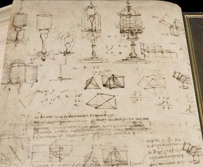 Leonardo manuscript