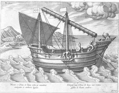 Naves e China et Iava velis ...