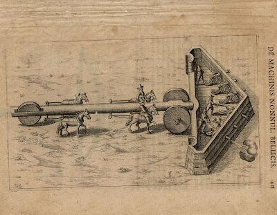 Fludd - Pars VI Liber Quartus p421 battering ram